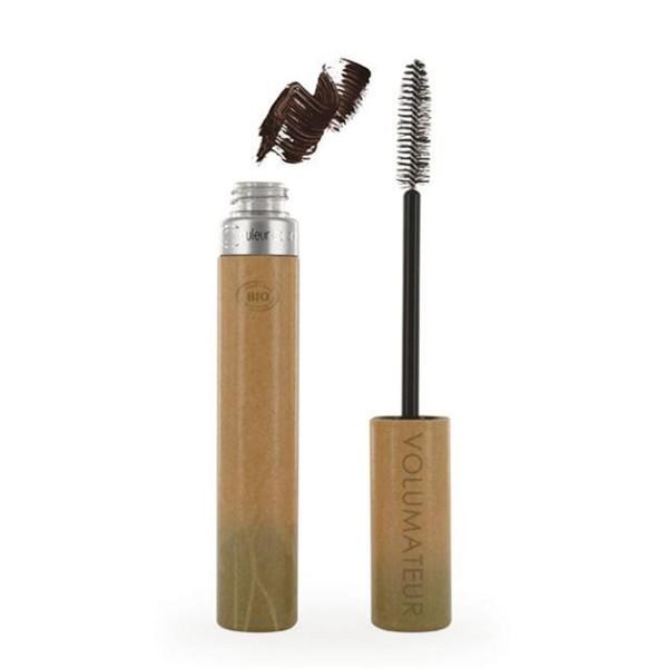 Couleur caramel volumateur mascara de pestañas 02 brun velours