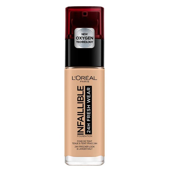 L'oreal infallible fresh wear base 125 naturel rose