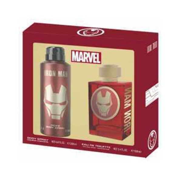 Marvel iron man eau de toilette 100ml vaporizador + colonia 200ml