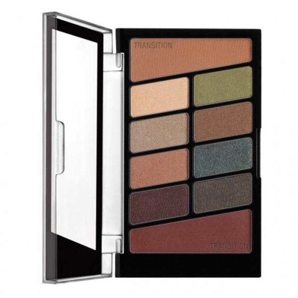 Wetn wild coloricon 10 pan paleta sombra de ojos comfort zone