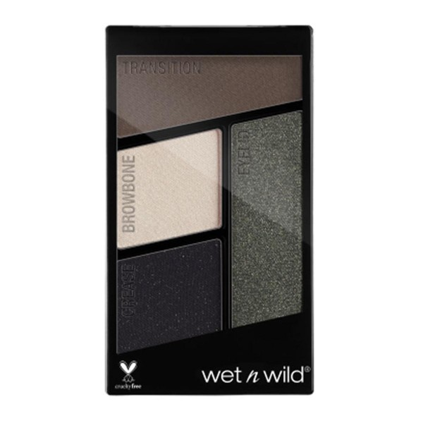 Wetn wild coloricon quad sombra de ojos lights out