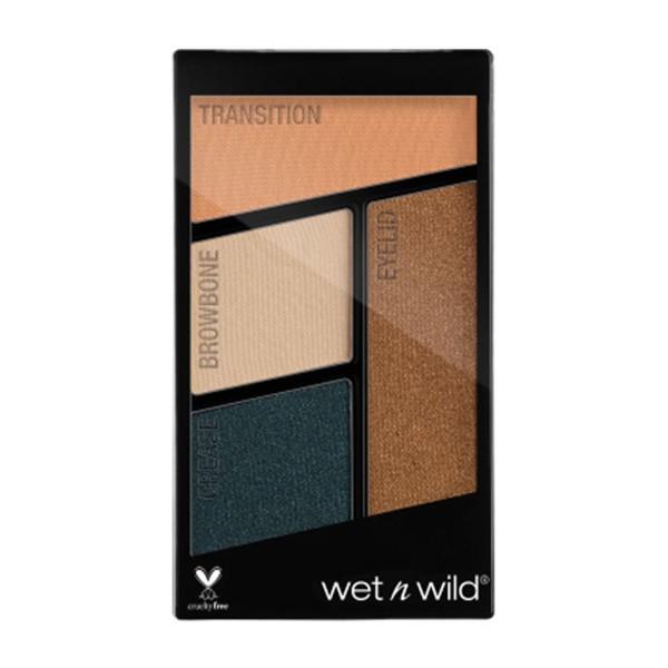 Wetn wild coloricon quad sombra de ojos hooked on vinyl