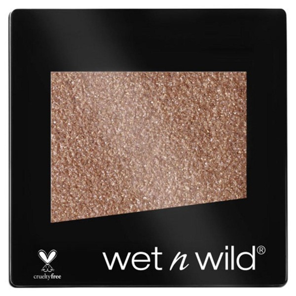 Wetn wild coloricon glitter single polvos nudecomer