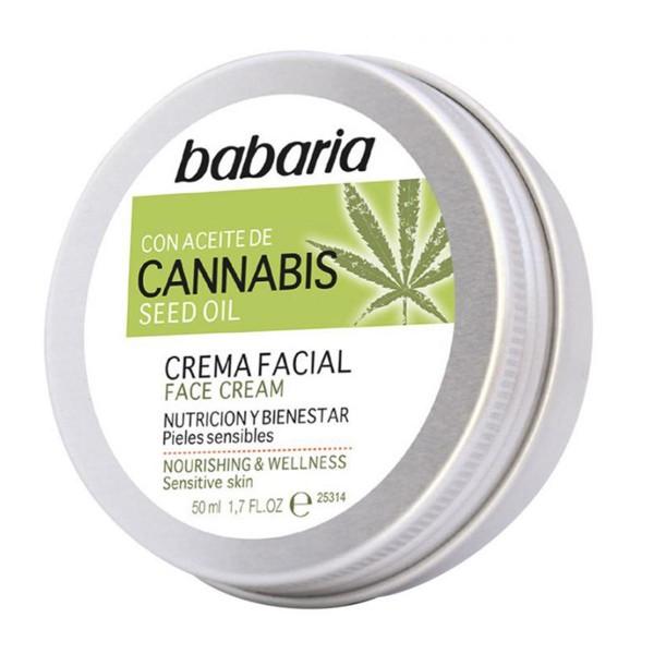Babaria cannabis crema hidratante 50ml