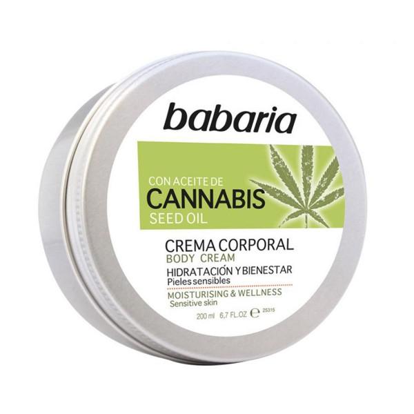 Babaria cannabis crema corporal 200ml