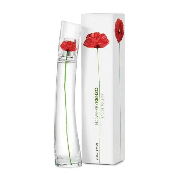 Kenzo flower by kenzo eau de toilette recargable 50ml vaporizador