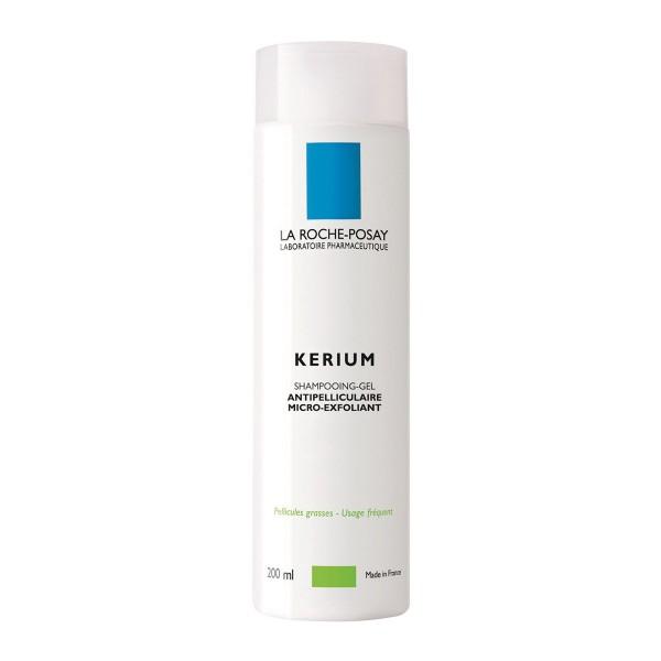 La roche posay kerium champu gel micro-exfoliante cabello graso 200ml