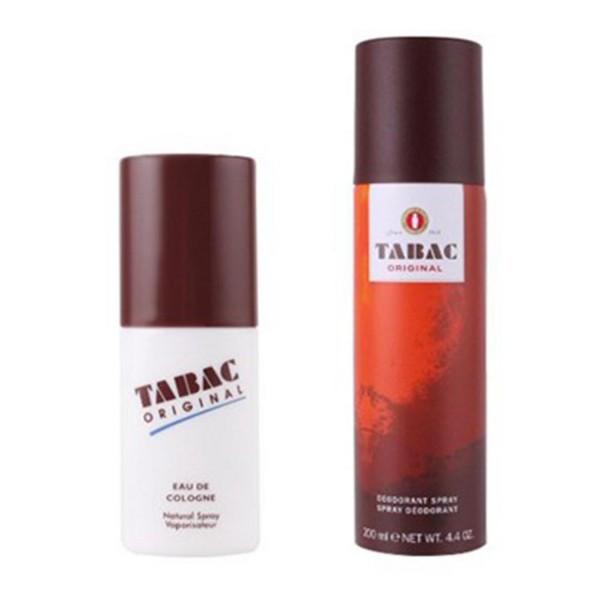 Tabac original eau de cologne 75gr vaporizador + desodorante stick 75gr.