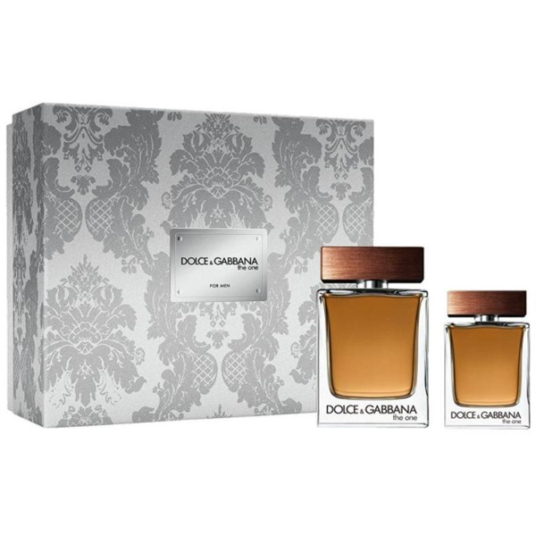 Dolce & gabbana the one for men eau de toilette 100ml + eau de toilette 30ml vaporizador