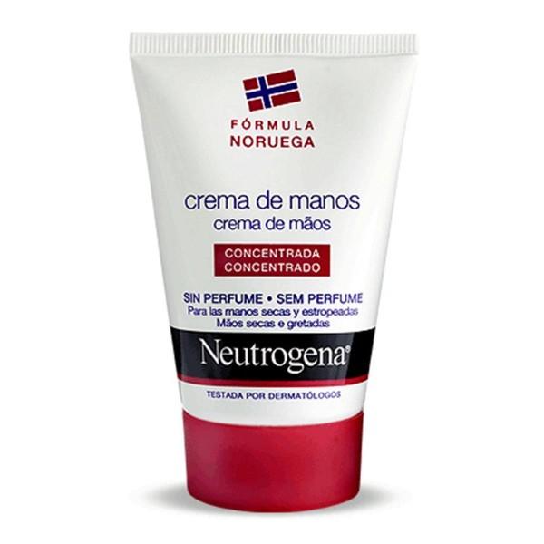 Neutrogena cuerpo crema de manos concentrada sin olor 50ml