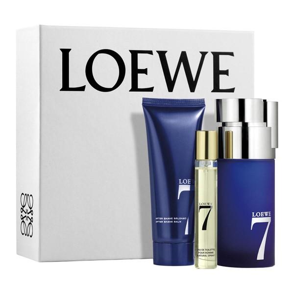 Loewe 7 loewe eau de toilette 100ml vaporizador + balsamo after shave 50ml + vial 20ml