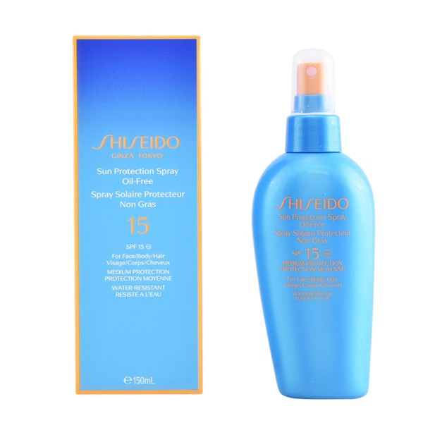 Shiseido anti-aging sun care sun protection spray oil free 150ml vaporizador