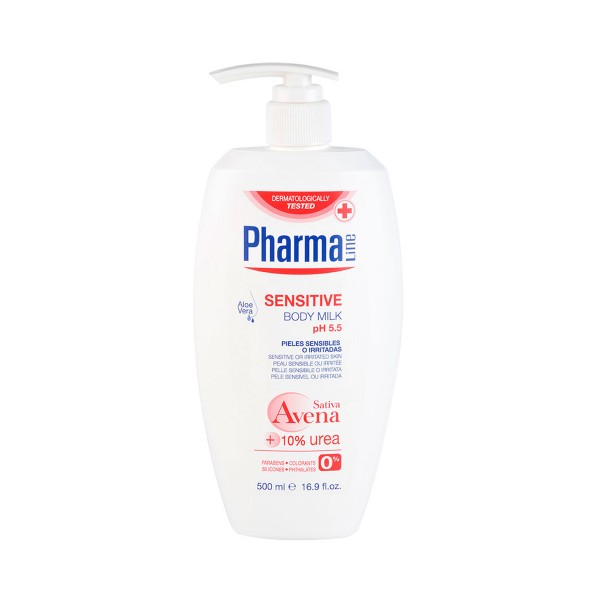 Pharmaline sensitive leche corporal 500ml