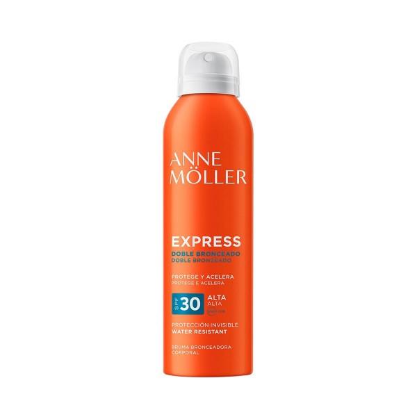 Anne moller express doble bronzeado mist spf30 water resistant 200ml vaporizador