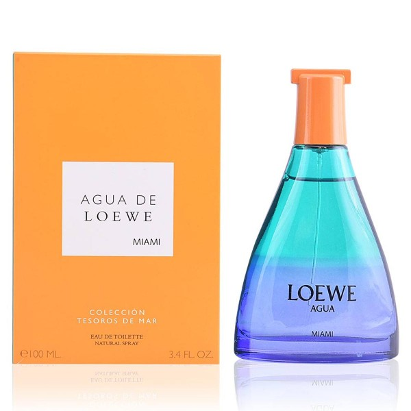 Loewe agua de loewe miami eau de toilette 100ml vaporizador