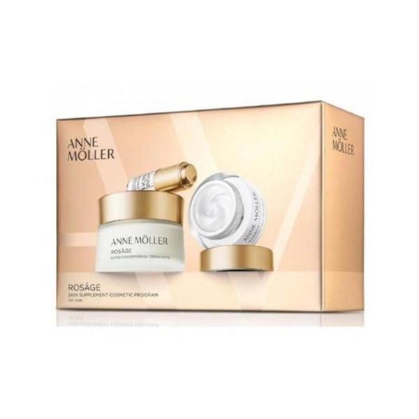 Anne moller rosage crema extra-rica spf15 50ml + crema de noche 15ml + hyaluronic acid gel 5ml