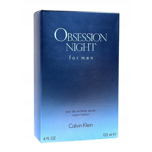 Calvin klein obsession eau de toilette for men 125ml vaporizador