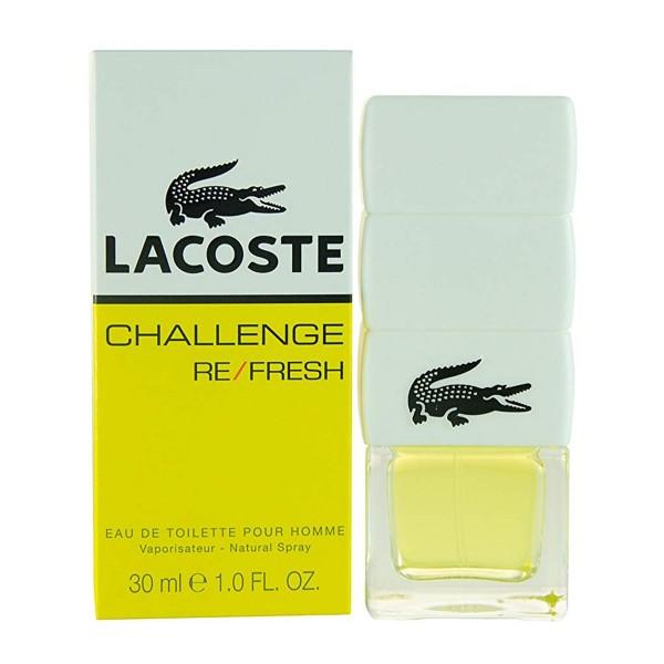 Lacoste challenge re/fresh eau de toilette para hombre 30ml vaporizador