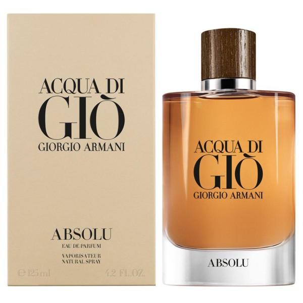 Giorgio armani acqua di gio absolu eau de parfum 125ml vaporizador