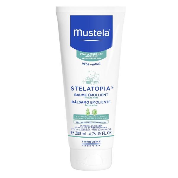 Mustela stelatopia balsamo emoliente textura rica piel atopica 200ml