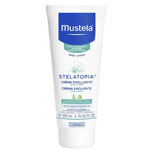 Mustela stelatopia crema emoliente textura rica piel atopica 200ml