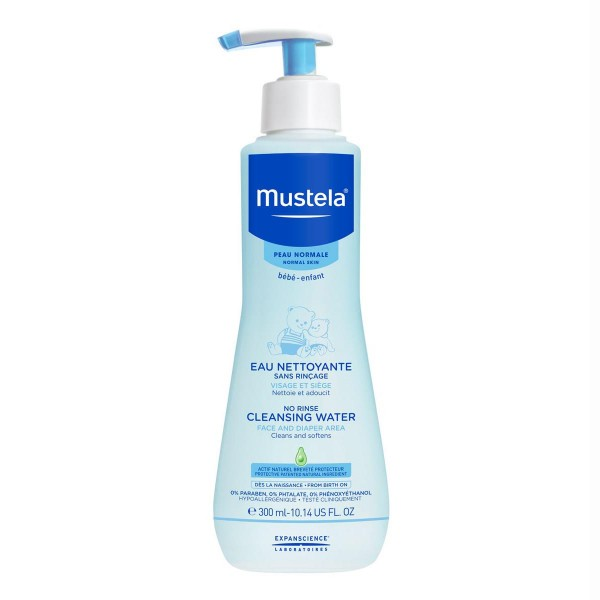 Mustela physiobebe cleansing water con dosificador 300ml