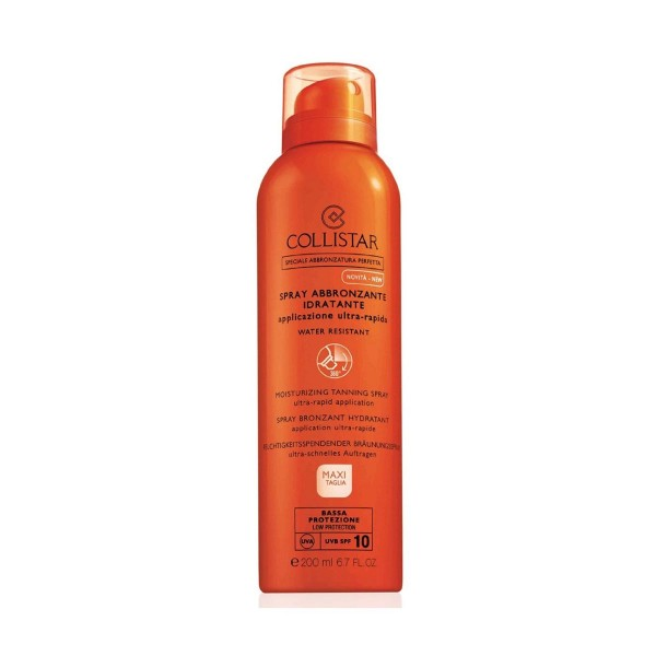 Collistar solar spray bronceador spf10