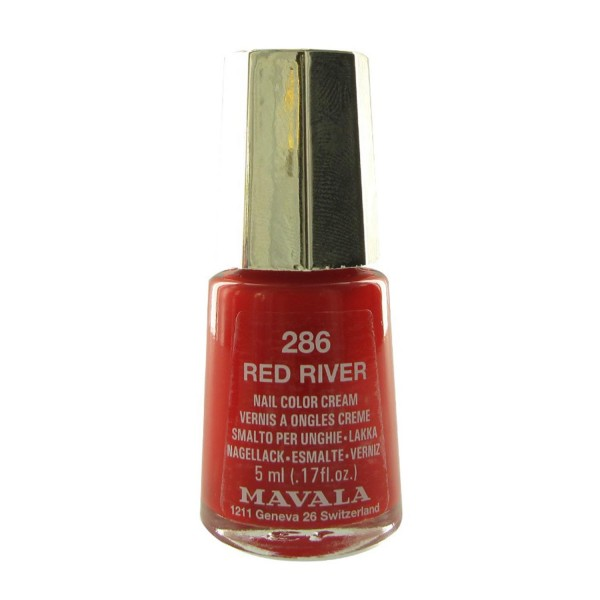 Mavala nail laca de uñas 286 red river
