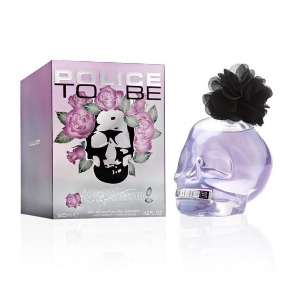Police to be rose blossom eau de parfum for woman 125ml vaporizador