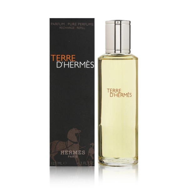 Hermes paris terre d'hermes parfum parfum recarga 125ml vaporizador