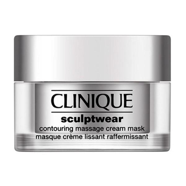 Clinique sculptwear contouring massage cream mask todo tipo de pieles 50ml