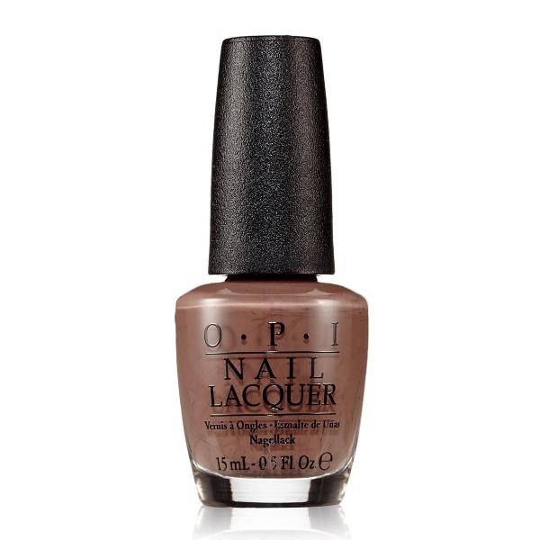 Opi nail laca de uñas nlb85 over the taupe