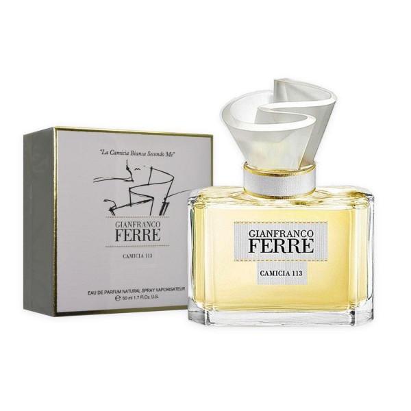 Gianfranco ferre camicia 114 eau de parfum 50ml vaporizador