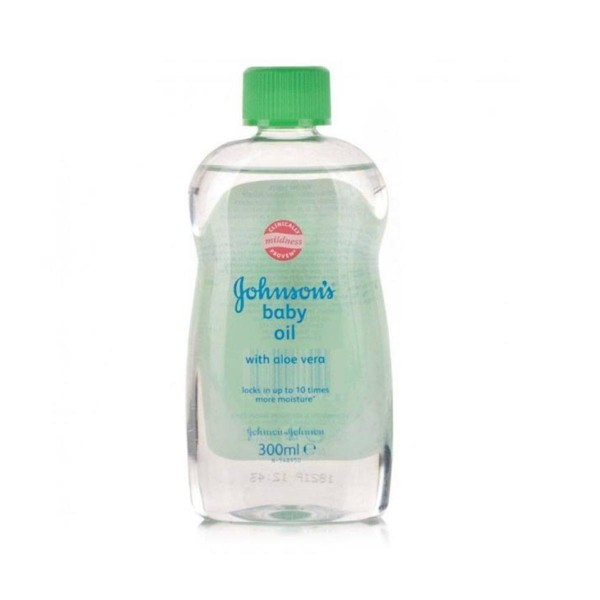 Johnson's baby aceite aloe vera 300ml