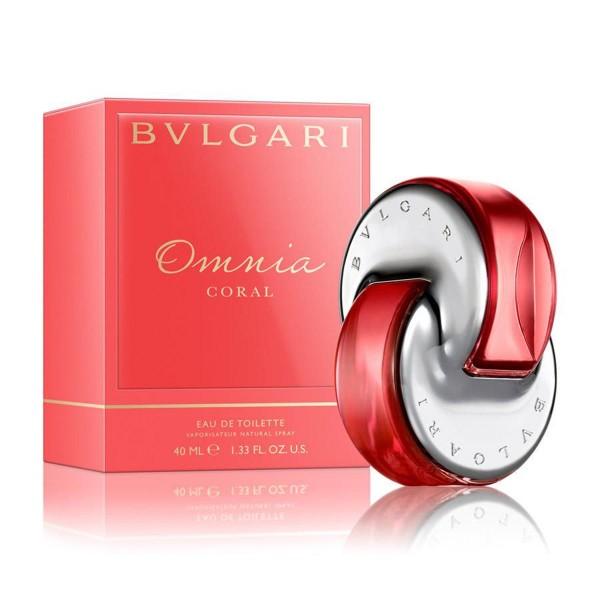 Bvlgari omnia coral eau de toilette 40ml vaporizador