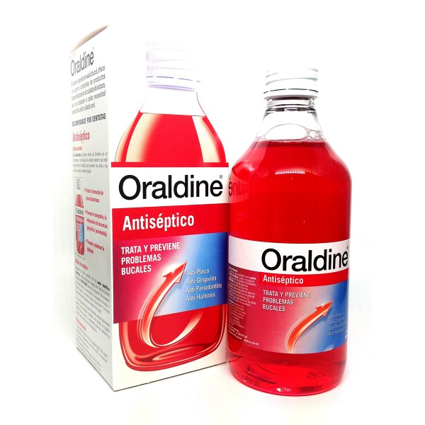 Oraldine unisex antiseptico bucal 400ml