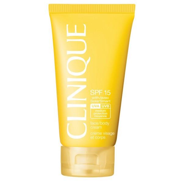 Clinique face body cream spf15 150ml