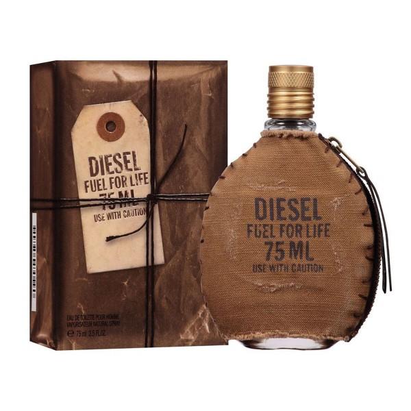 Diesel fuel for life eau de toilette pour homme 75ml vaporizador