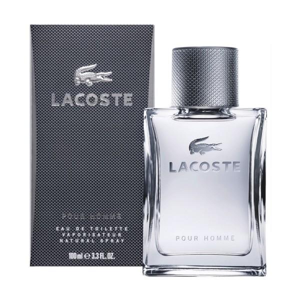 Lacoste pour homme eau de toilette 100ml vaporizador