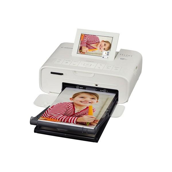 Canon selphy cp1300 blanco impresora fotográfica wifi gran pantalla abatible impresión directa desde usb
