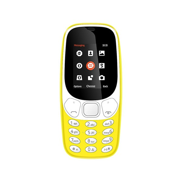 Brigmton btm4 amarillo movil senior dual sim 1.7'' bluetooth camara