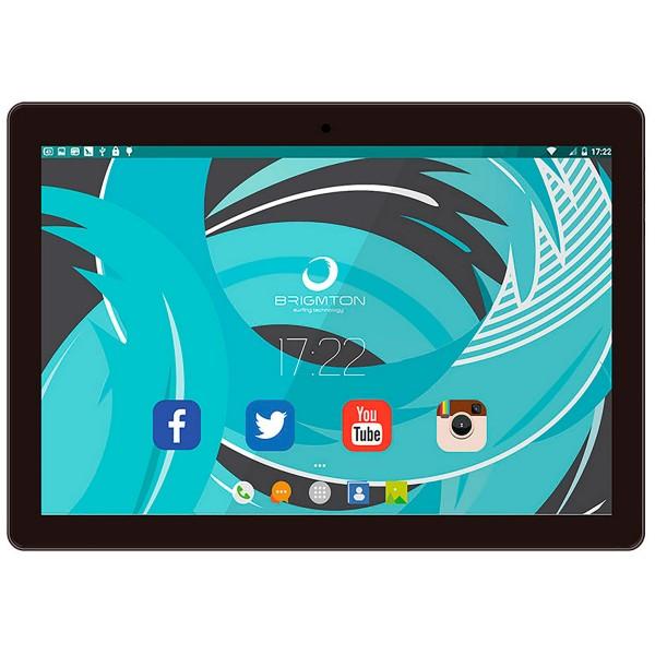 Brigmton btpc1024 negro tablet wifi 10.1'' ips/4core/16gb/2gb ram/2mp