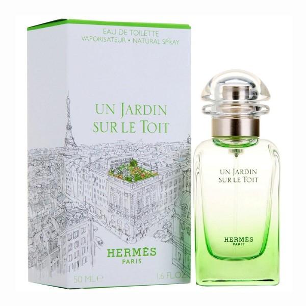Hermes paris un jardin sur le toit eau de toilette 50ml vaporizador