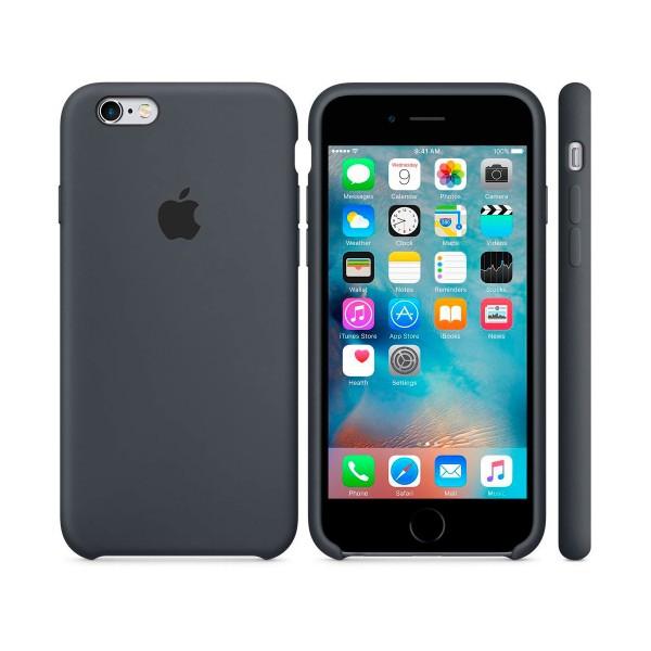 Apple mky02zm/a gris carbón carcasa de silicona iphone 6s/6