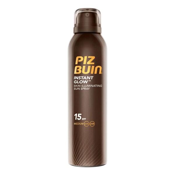 Piz buin instant glow skin illuminating sun spray spf15 150ml vaporizador