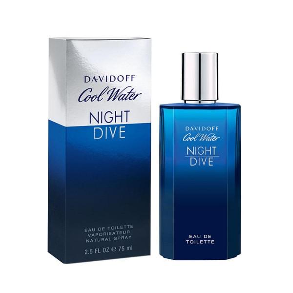 Davidoff cool water night eau de toilette 75ml vaporizador