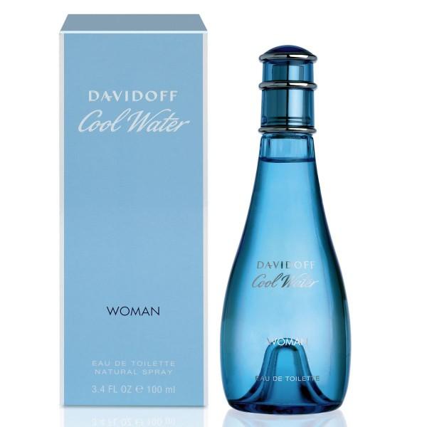 Davidoff cool water eau de toilette woman 100ml vaporizador