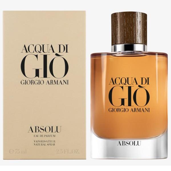 Giorgio armani acqua di gio absolu eau de parfum 75ml vaporizador