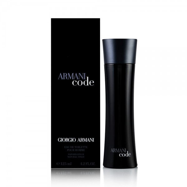 Giorgio armani code eau de toilette pour homme 125ml vaporizador