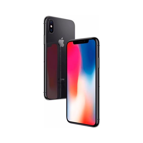 Apple iphone x 64gb gris espacial móvil 4g 5.8'' super retina oled hdr/6core/64gb/3gb ram/12mp+12mp/7mp